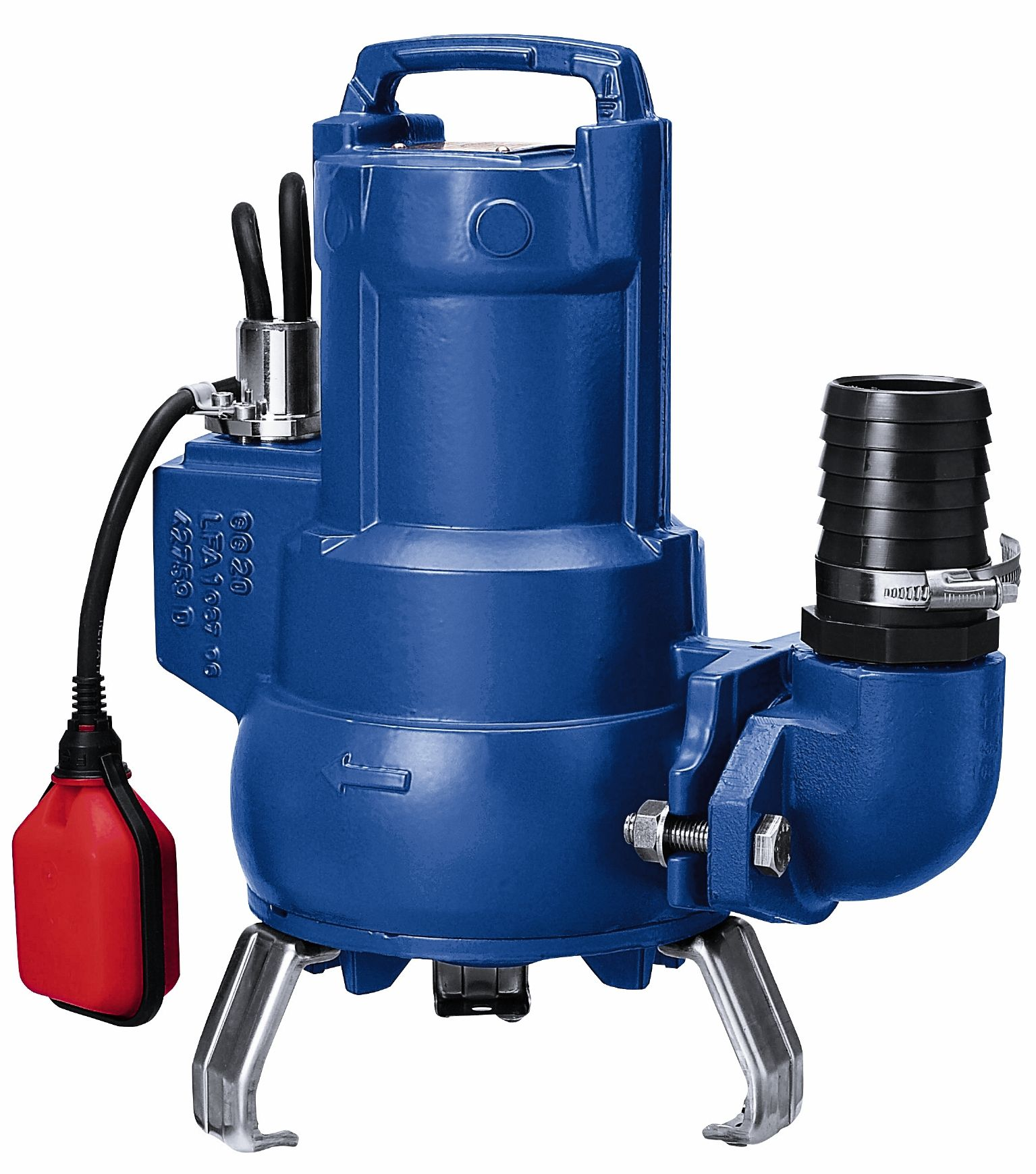 Ksb Ama Porter 502 Se Automatic Submersible Pump With Float