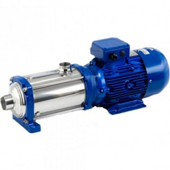 Lowara 5HM05P09M5HVBE Horizontal Multistage Pump in Stainless Steel